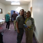 Cherri Fuller and one of the Mom's after her Message