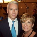 CNN Host Anderson Cooper and Carolyn.