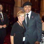 LL Cool J and Carolyn at the CNN Awards Show.